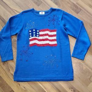 COPY - Quacker factory Women sweater Size Medium …